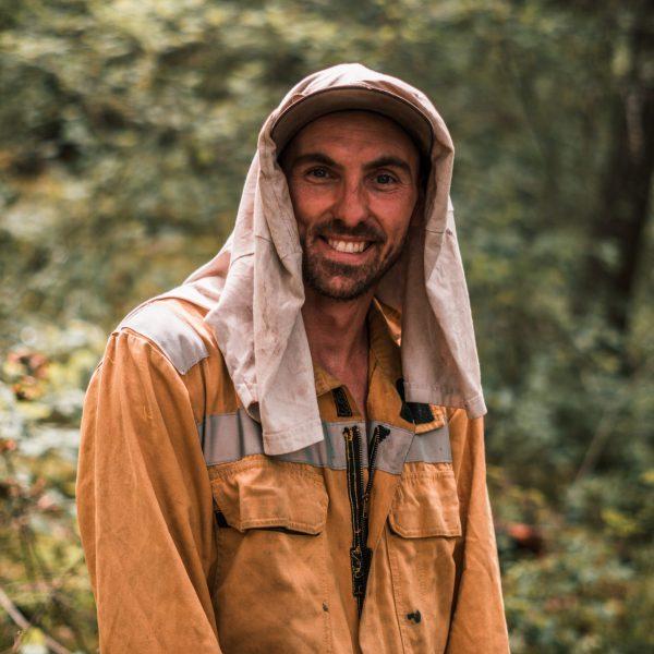 Daniel Gorham, Crew Leader, Builder, First Journey Trails